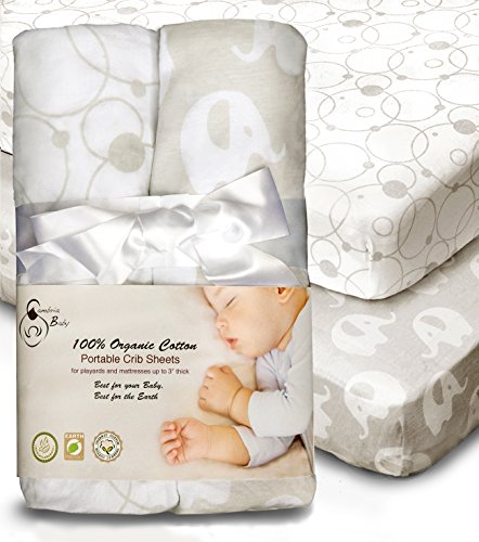 100 Organic Cotton Sheets For Pack N Play And Other